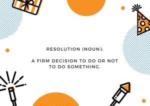 resolution definition